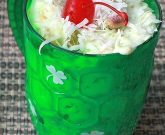 Pistachio Ambrosia with Video Happy St. Patrick's Day