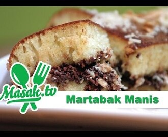 Video Tutorial Cara Membuat Martabak Manis Spesial