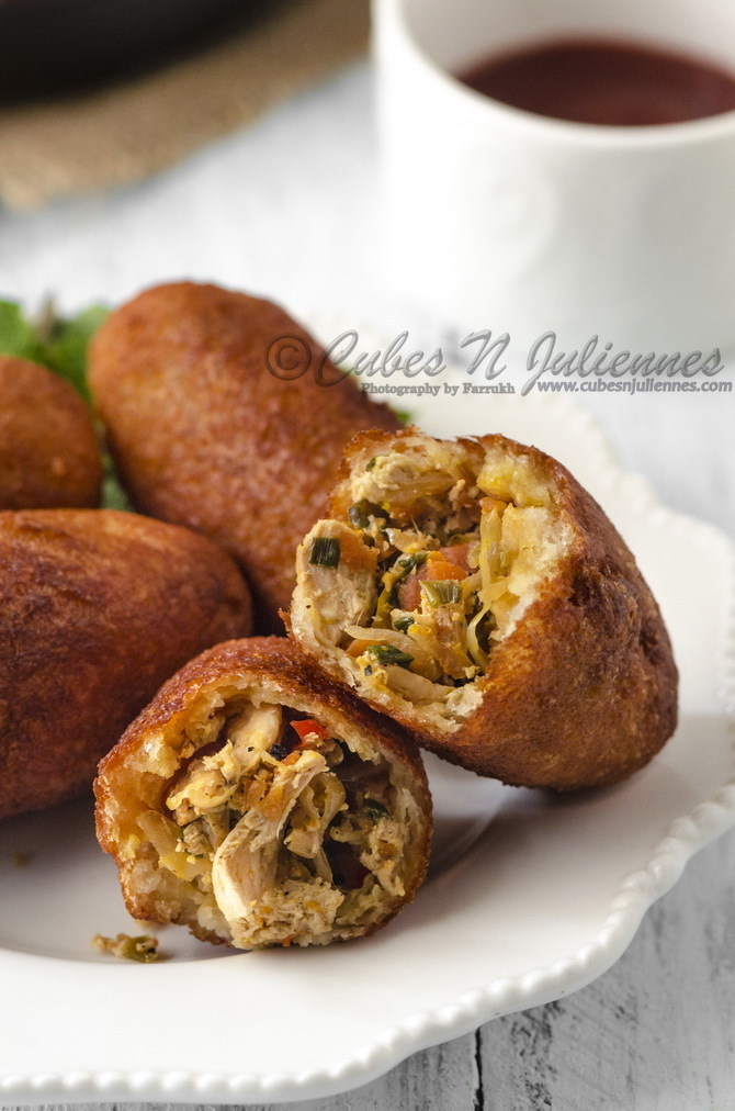 Chinese Style Chicken Bread Rolls