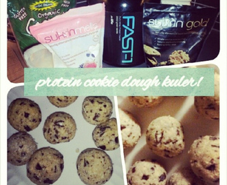 Cookie dough protein kuler!