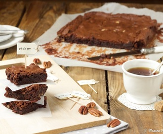 Brownies com Nozes Pecan