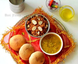 Rajasthani Dal Baati Churma Recipe| Dal Baati Recipe|Churma Recipe with Jaggery