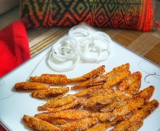 Deep fried Fish (Konkani Style)