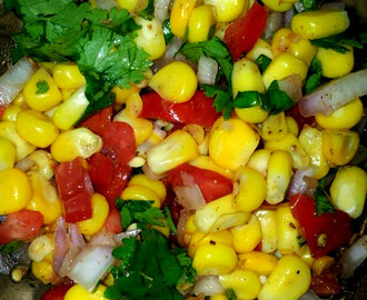 Indian Sweet Corn Chaat Recipe