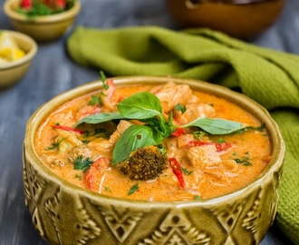 Thai Red Chicken Curry ( Using ingredients from Foodhall )