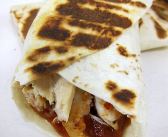 Chicken Parmesan Wrap