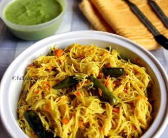 Semiya Upma | Vermicelli Upma | Easy Breakfast Recipes