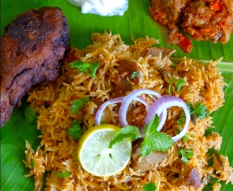 Mutton Biryani | Biryani Recipe (Using Pressure Cooker)