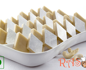 Kaju Katli Recipe - Indian Sweet Recipe