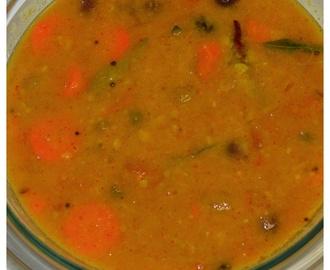 how to prepare saravana bhavan sambar