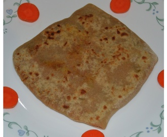 Vegetable Stuffed Chapathi