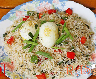 Egg Fried Rice Recipe - Easy to Make Egg Recipe