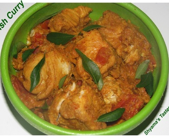 Meen Vattichathu/Tangy Fish Curry