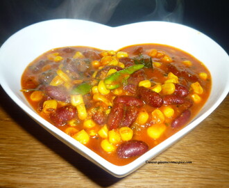 Kidney Beans and sweetcorn curry