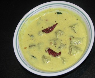 Vendakka Moru Curry/Moru Curry with lady's finger