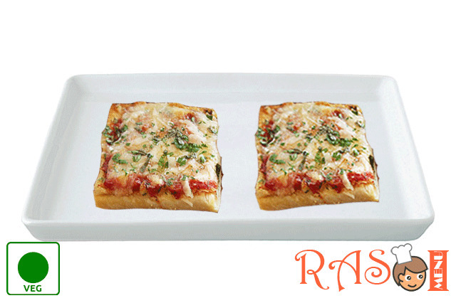 Instant Bread Pizza Recipe