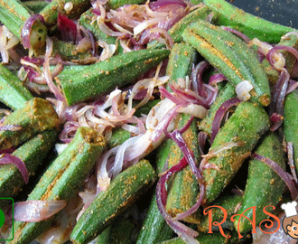 How to Cook Masala Bhindi in Microwave