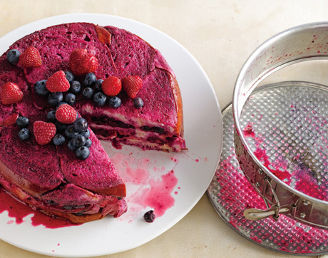 Summer Berry Pudding