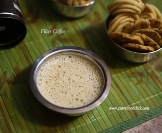 Indian Filter Coffee: Video Recipe
