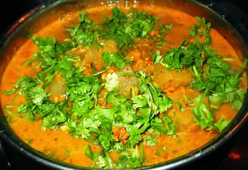 Mangalore Southekai Curry