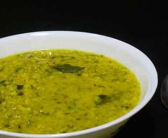 Mung Daal with Dill Leaves Recipe