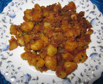Aloo masala curry/ Spicy Potato Curry
