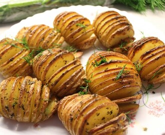 Hasselback Potatoes – a Swedish snack