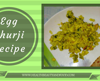 Egg Bhurji Recipe | Indian Scrambled Egg Recipe