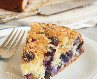 Blueberry Coffee Cake - Bake or Break