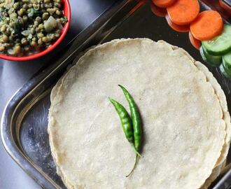 Jolada Rotti | Jowar Roti | Sorghum Flatbread Recipe with Video