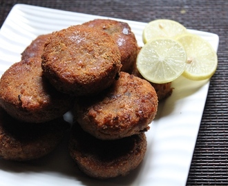Easy Chicken Cutlet Recipe / Chicken Tikki Recipe