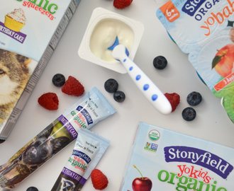 Buying & Eating Organic with Stonyfield and Walmart