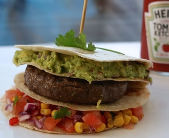 Hamburger Mexican style - Chickslovefood