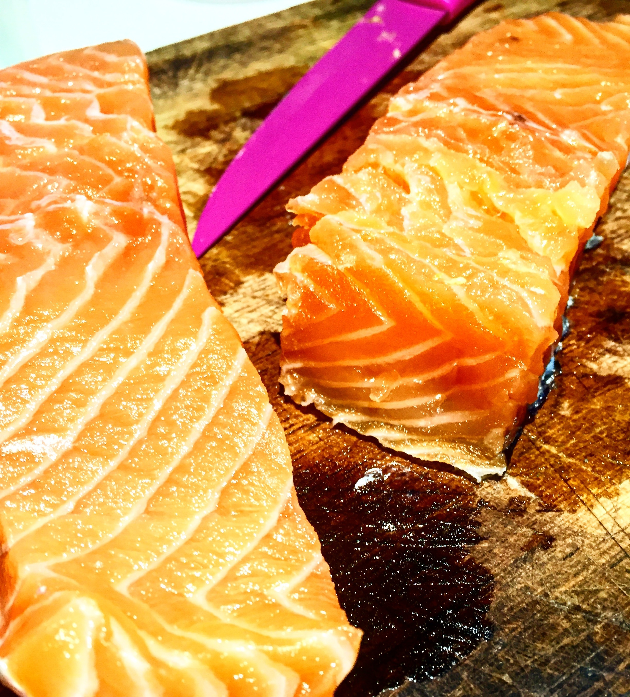 Home Cured Salmon Fillets | Slimming World