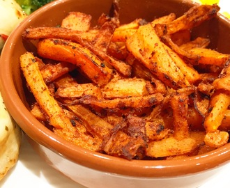 Chilli & Paprika Carrot Chips | Slimming World