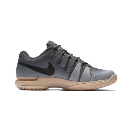 Nike Zoom Vapor 9.5 Tour Women Grey/Rosé Gold Size 36.5 36.5
