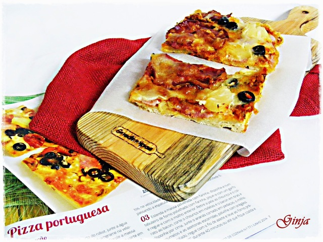 No Dia de Portugal... Pizza Portuguesa!!!