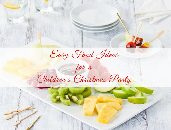 Easy Ready-made Christmas Food Ideas for a Children's Party