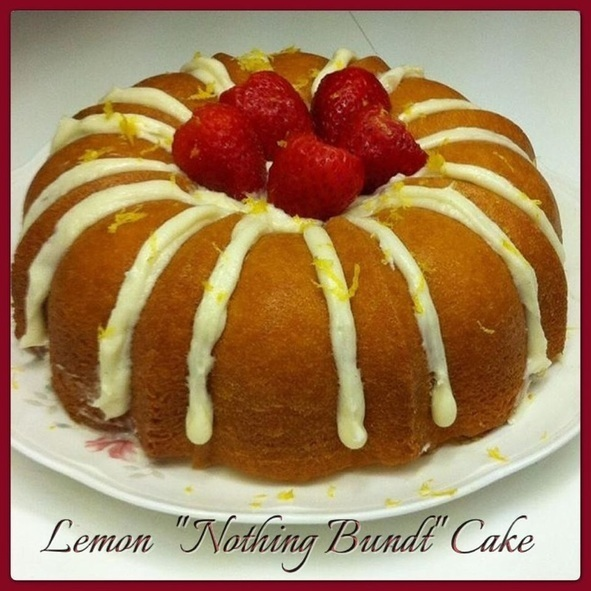 CopyCat: Lemon {Nothing Bundt} Cake