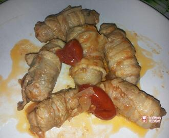 Involtini di vitello