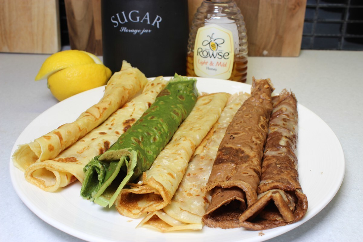 Pancakes 4 ways – Crepes