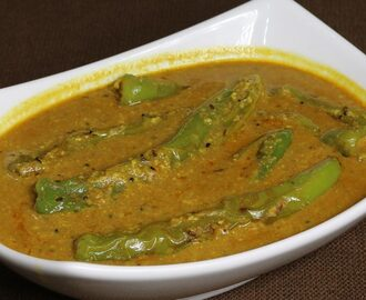 Manjula's Kitchen Hyderabadi Mirchi Ka Salan (Spicy Pepper Curry) Post navigation