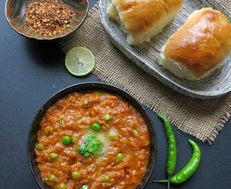 How To Make Mumbai Pav Bhaji ,Pav Bhaji Recipe