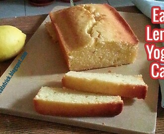 EASY LEMON YOGURT CAKE RECIPE