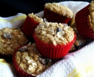 HEALTHY OATMEAL MUFFIN RECIPE