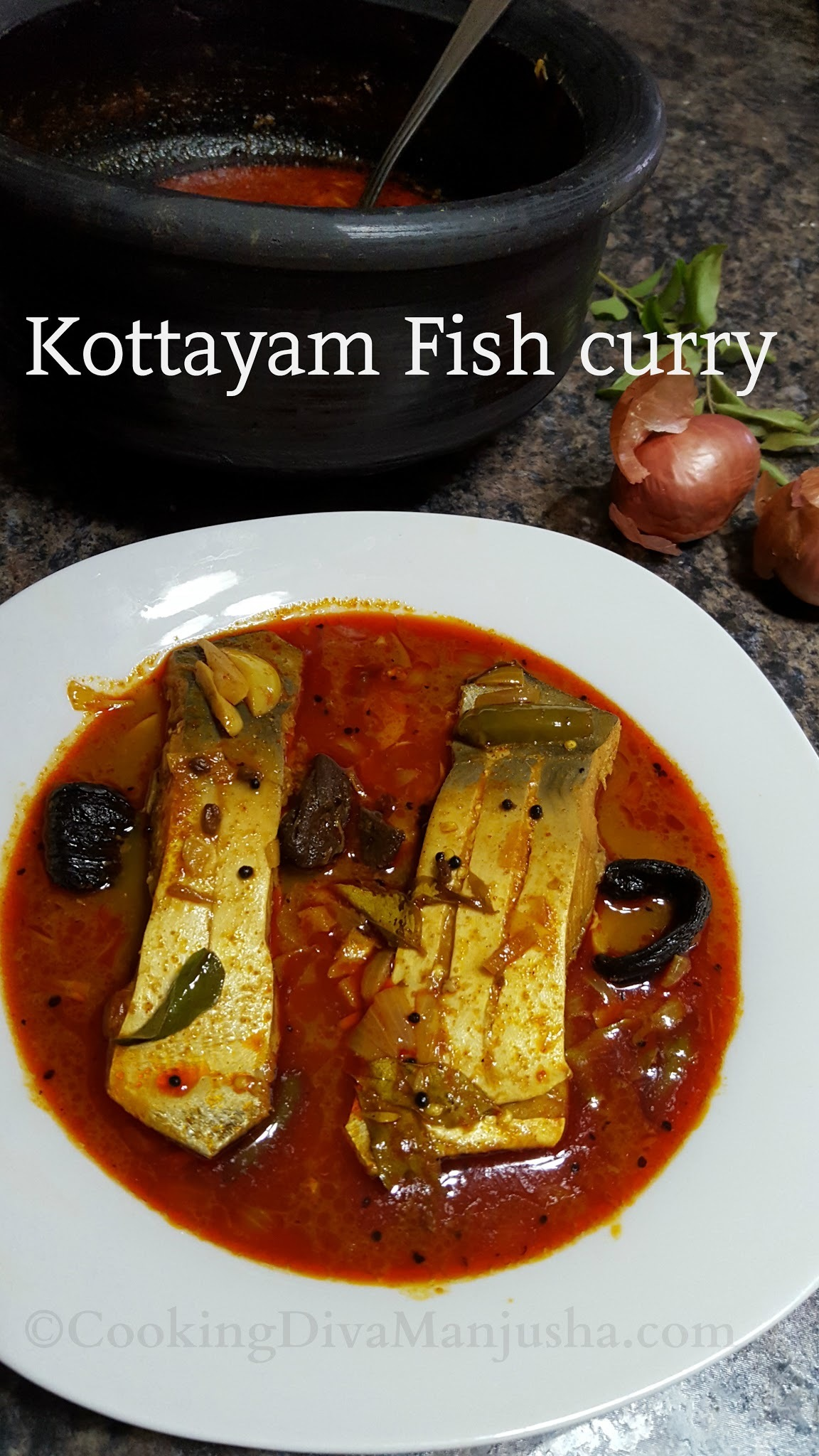Kottayam fish curry |Nadan fish curry from Kerala