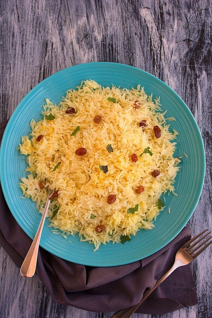 Saffron Rice | Video