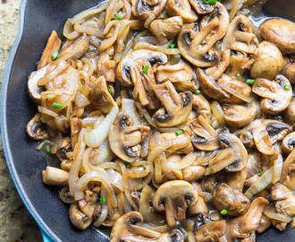 Balsamic Mushrooms and Onions