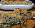 Sourdough Focaccia With Rosemary And Garlic