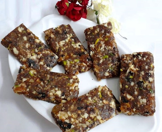 DRY FRUIT AND NUT ENERGY BAR